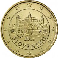 Slowakei 10 Cent 2014 bfr.  Burg von Bratislava