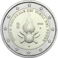 2 Euro Sondermünze Italien 2020 80 Jahre Nationale Feuerwehr Italien