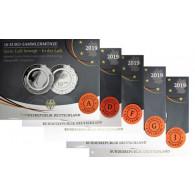 10 Euro Münzen 2019 In der Luft Gleitschirm Polierte Platte Folder