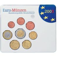Deutschland KMS original Kursmünzensätze 2005 im Folder Stempelglanz bestellen Münzhändler