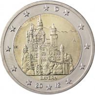 Deutschland 2 Euro 2012 bfr. Schloss Neuschwanstein Mzz. A