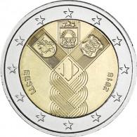 2 Euro Gedenkmuenzen aus Estland Gemeinschaftsausgaben 100 Jahre Unabhängigkeit