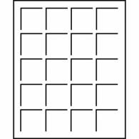 318864 -  Tableaus  S - Format 20Felder bis 41 mm