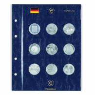 353747 -  VISTA Münzblätter zur Unterbringung von  10 Euro ,20 Euro und 25  Euro