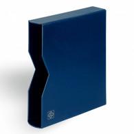 Leuchtturm 329363 Schutzkassette für Ringbinder Optima blau