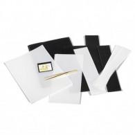 Briefmarken Zubehör 305801 - SF-Sortiment Glasklare Trägerfolie  210 Streifen