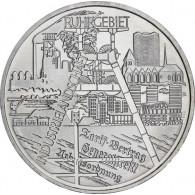 10 Euro Silber 2003 Silbermünze Ruhrgebiet