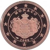 Monaco 5 Cent 2006  PP