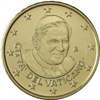 Vatikan Kursmünzen  50 Euro-Cent 2007 Stgl. Papst Benedikt XVI.