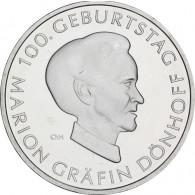 Silbermünze 10 Euro 2009 Gräfin Dönhoff