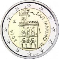 2 Euro Sondermünze San Marino 2016