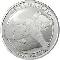 1/2 Unzen Silbermünze Koala - Australien 2012