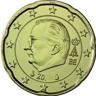 Belgien 20 Euro Cent 2011 bankfrisch Koenig Albert II
