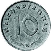 J.371 - 10 Pfenning 1940 - 1945