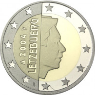 Luxemburg 2 Euro 2004 bfr. Großherzog Henry I.