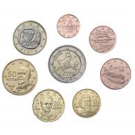 Griechenland 3,88 Euro 2002 bfr. KMS 1 Cent bis 2 Euro