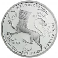 Deutschland 10 DM Silber 1995 Stgl. 800. Todestag von Heinrich dem Löwen