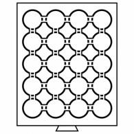312454 - Münzbox 20 Fächer für CAPS 41