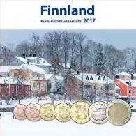 Finnland 3,88 Euro 2017 bfr. KMS - Sondersatz im Folder