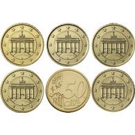 Deutschland 10 Euro-Cent 2017  Kursmünze mit Eichenzweig