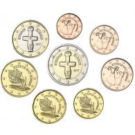 Kursmünzen aus Zypern Jahrgang 2017