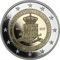 2 Euro Sondermünze Universität Lüttich in Polierte Platte