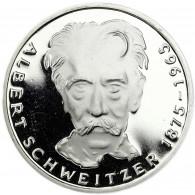 Deutschland 5 DM Silber 1975 PP Albert Schweitzer in Münzkapsel