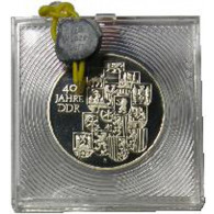 J.1630   DDR 10 Mark 1989 PP  40 Jahre DDR Original verplombt