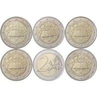 Deutschland 2 Euro 2007 bfr. Römische Verträge im Satz A - J