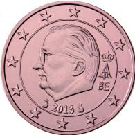 Euro Muenzen Belgien 2 Cent 2013 Koenig Albert II