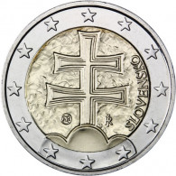 Kursmünze 2 Euro Slowakei 2011  Doppelkreuz  Münzkatalog Sammlermünzen Zubehör kaufen