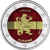 Kurzeme Euro Gedenkmünze aus Lettland in bankfrisch online bestellen