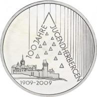 Silbermünze 10 Euro 2009 Jugendherbergswerk