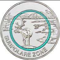 Deutschland-5-Euro-2020-Subpolare-Zone-stgl-I