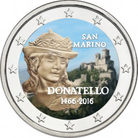 Donatello 2 Euro Münze aus San Marino 2016