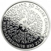 Deutschland 10 DM Silber 1999 PP 50 Jahre Grundgesetz Mzz. komplett A bis J