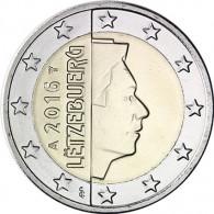 2 Euro Münze 2016 Großherzog Henri I.