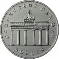 DDR 5 Mark Brandenburger Tor in Berlin 1983