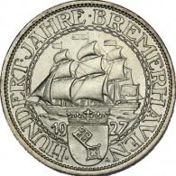J. 325 -  3 Reichsmark Bremerhaven 1927 Weimarer Republik