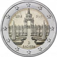 Euro Gedenkmünzen Dresdner Zwinger 2016