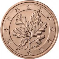 Deutschland 2 Cent 2014 Mzz. F