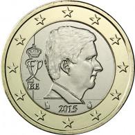Belgien 1 Euro 2015 bfr.  König Philippe