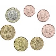 rankreich 1,88 Euro 2005 bfr. KMS 1 Cent - 1 Euro lose