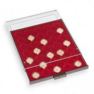 335354 - Münzbox 35 Fächer Münzzubehör  für 2 Euro in CAPS 26