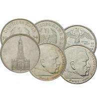 Original Reichsmark Silber Hindenburg , Garnisonskirche