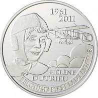 Belgien 5 Euro 2011 PP 50. Todestag von Helene Dutrieu
