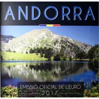 Euro Kursmünzensatz aus Andorra von 2017