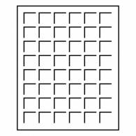 Leuchtturm 327395 -  Muenzenbox LIGNUM 20 Fächer für Muenzraehmchen  Zubehoer