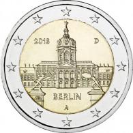 Deutschland 2 Euro 2018  Schloss Charlottenburg - Berlin Mzz. A