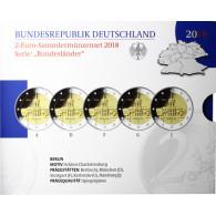 2-Euro-Sammlermünzen-Set  Bundesländerserie Berlin - Schloss Charlottenburg bestellen bei Historia Hamburg im Shop online.....